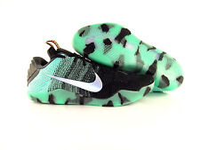 Nike Kobe XI Elite Low Flyknit AS All-Star Green Glow Black US_14 Eur 48.5