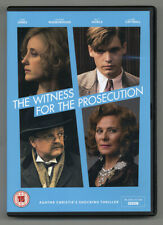 The Witness For The Prosecution (Bbc) • 'Pal'/Region 2 • Like New • Free Shippng