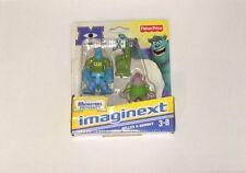 NIB Fisher Price Imaginext Disney Pixar Monsters University Sulley & Squishy