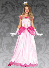 Leg Avenue Long Classic Pink Princess Costume