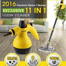 1050W 11 in 1 Handheld Steam Cleaner With Steam Mop Function Aluminum Boiler