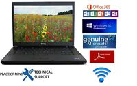 Dell Latitude Laptop+WIN 10+Microsoft Office 2016 activated+Webcam ZOOM READY