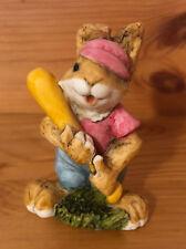 Artefice Ottanta Figura Coniglio Coniglietto Giocatore Baseball D. Esposito 1982