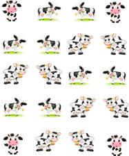 Cows Cute/ Cartoon Waterslide Nail Decals/Nail art