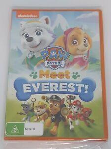 Paw Patrol Meet Everest DVD Region 4 NEW 2016