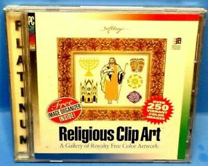 Religious Clipart (PC-CD,1994) Windows 3.1