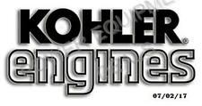 Genuine OEM Kohler ENGINES FOLDER part# [KOH][E-2078-A]