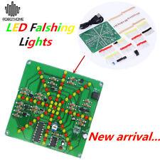 LSD-73 DIY Electronic LED Falshing Lights Soldering Practice Board PCB Kit DIY U