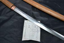 Japanese Samurai Ninja real sword Wakizashi authentic handmade sharp steel blade