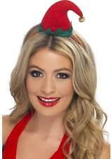 mini-elfen-hut SU CERCHIETTI per capelli NUOVO - Carnevale Cappello berretto