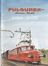 catalogo FULGUREX 2004-2005 Precision Models Spur N HO O I             D F    aa