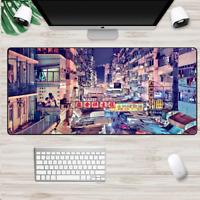 XXL Gaming Mauspads Groß Japan Stadt City Mausunterlage Computer PC Mousepad