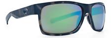 COSTA DEL MAR OCEARCH HALF MOON SUNGLASSES HFM140OC OGMGLP SHARK/GREEN GLASS 580