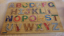 """Kid Classics Alphabet 1998 Learning Curve Letters Educational Toy 15.5""""x11.5"""""""