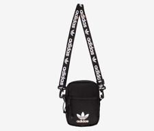 Adidas Originals Black Crossbody Shoulder Strap Festival Pack / Messenger Bag