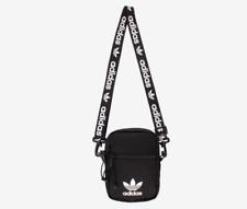 Adidas Originals Black Crossbody Shoulder Strap Festival Pack   Messenger  Bag bdd111af558b5