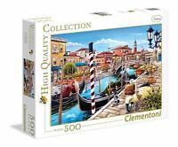 Puzzle Lagune de Venise; 500 pièces Clementoni 35026 Venetian Lagoon