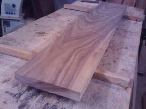 black walnut planed timber hardwood plank plaque board plinth woodwork diy