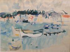 Marcel St Jean( 1914-1994).  Aquarelle et gouache . v204.
