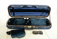 High Quality Royal Wooden Violin Case Blue Color VT-090