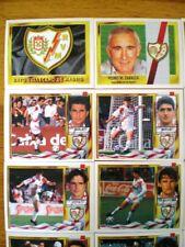 ED. ESTE LIGA 95/96 - LOTE 20 CROMOS NUEVOS RAYO VALLECANO (con baja y fichaje)