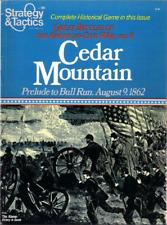 Strategy&Tactics Magazine #86:Cedar Mountain,Prelude to Bull Run August 9 1862