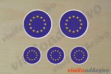 PEGATINA STICKER VINILO Bandera lente Europa UE Europe autocollant aufkleber