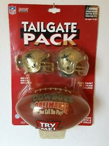 NEW SEALED NFL DALLAS COWBOYS RIDDELL SPORTS Tailgate Pack WHISTLE PAINT MAGIC 8