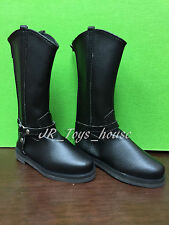 1/3 BJD Black Cowboy Boots A fits SD AI Dz BB Super Dollfie DD SALE