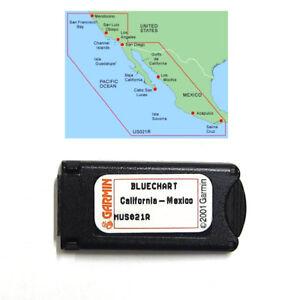 Garmin BlueChart California Mexico MUS021R Data Card Marine Chart 010-C0035-00
