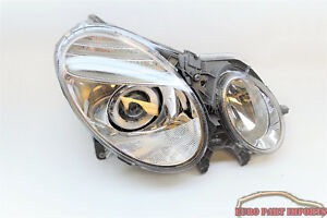 MERCEDES benz 07-09 E350 E550 Passenger Headlight Headlamp Genuine 2118203461