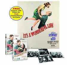It's a Wonderful Life - Black & White and Colour Versions + Original 1946 DVD