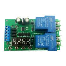12V 30A DC/AC motor controller forward & Reverse Start Stop Delay Controller
