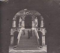 Palazzo Ducale Venezia Italia Foto Amateur Vintage Ca 1900