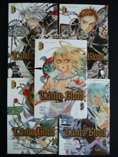 TRINITY BLOOD lot tome 1 à 5 TBE