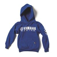 Factory Effex Licensed Yamaha Racing Pullover Hoodie Blue Youth All Sizes
