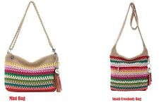 The Sak Women's Crossbody Bags Casual Classic Crochet Mini Bag or Small Bag