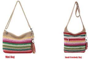 The Sak Women's Crossbody Bags Casual Classic Crochet Mini Bag or Small Bag