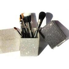 Makeup Brush Holder Big Diamond Mermaid Crystal Rhinestone Container Organizer