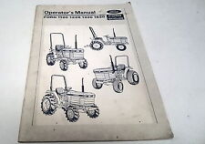 1989  FORD TRACTOR Operators Manual  1120 1220 1320 1520
