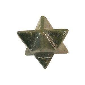 Blood Stone 8 Point Merkaba Reiki Spiritual Natural Energy Healing Star Gemstone