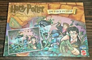 Mattel Harry Potter And The Philosopher's Stone 250 Piece Jigsaw Puzzle Complete