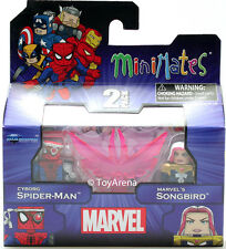 Marvel Minimates Series 50 Cyborg Spider-Man and Marvel's Songbird 2-Pack Figure