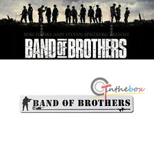 Specular Aluminum Band Of Brothers Emblem Decal Sticker Badge For Jeep Truck SUV
