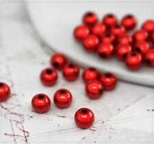 40x Miracle Beads Perlen Acrylperlen Schmuck DIY Basteln 3D Effekt 8mm Lavendel