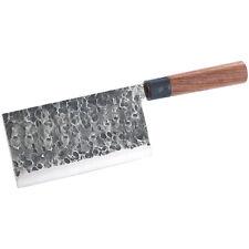 Chinesisches Kochmesser: Chinesisches Hackmesser, handgefertigt (Küchenbeil)
