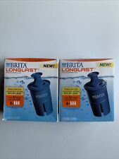 Brita Longlast Replacement Filters for Pitchers 2 Packs Of 2. Total Of 4 Filters