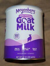 Meyenberg Canned Powdered Whole Goat Milk, Gluten Free, Soy Free, 12 oz