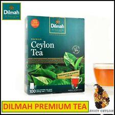 Sri Lanka - Ceylon, DILMAH Premium Black Tea Full Flavour 25/50/100 Tea Bags