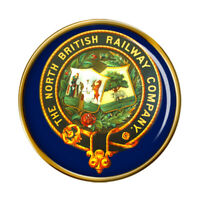 Nord Britannique Chemin de Fer Crest Broche Badge